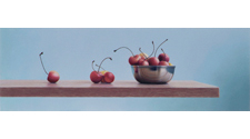 Horizontal Still Life (Cherries), 2012