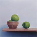 Square Still Life (Apples), 2012